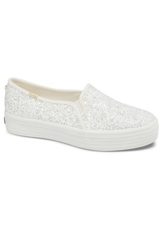 Keds for kate spade new york Triple Decker Glitter Sneakers