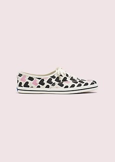 keds x kate spade new york champion hearts-print sneakers