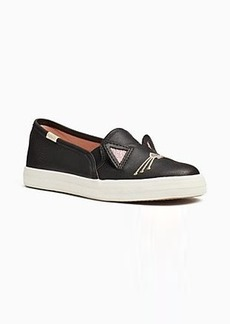 keds x kate spade new york hayden cat double decker youth sneakers