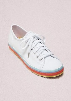 keds x kate spade new york kickstart rainbow foxing sneakers