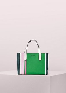 Kate Spade kitt stripe medium satchel