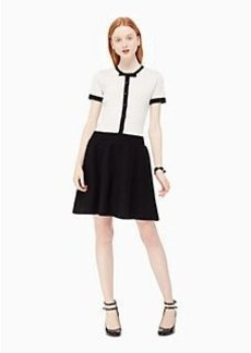 Kate Spade knit fit and flare dress