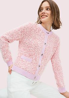 Kate Spade knit tweed cardigan