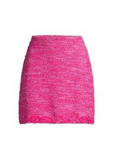 Kate Spade Knit Tweed Skirt