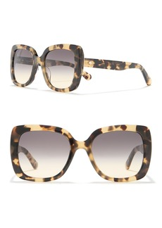 Kate Spade krystalynn 53mm square sunglasses