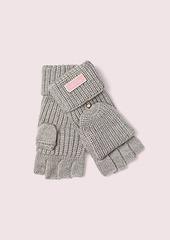 Kate Spade label pop top gloves