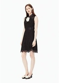 Kate Spade lace a-line dress