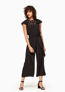 Kate Spade lace embroidered jumpsuit