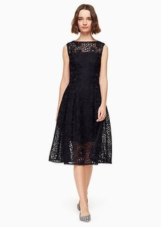 Kate Spade lace fit and flare dress