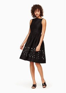 Kate Spade lace panel fit and flare dress