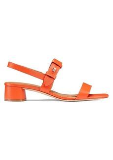 Kate Spade Lagoon Push Stud Leather Sandals