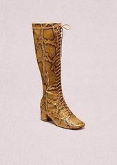 Kate Spade lake lace-up boots