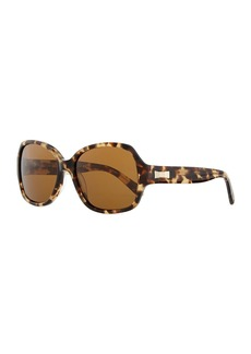 Kate Spade laney polarized tortoise sunglasses