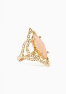 Kate Spade lantern gems ring