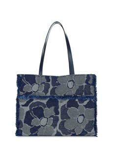 Kate Spade Large Sam Denim Tote
