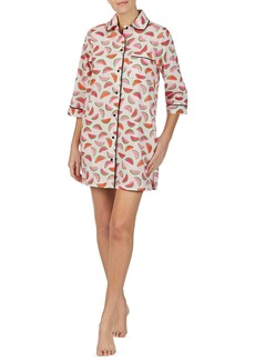 Kate Spade lawn watermelon-print sleepshirt
