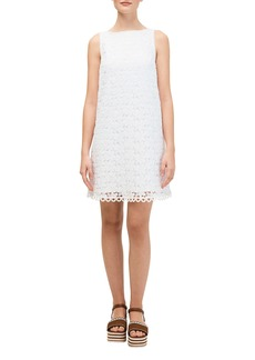 Kate Spade leaf lace shift dress