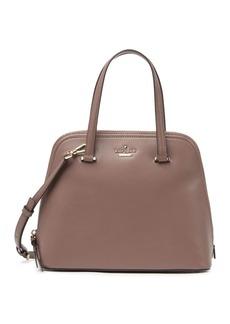 Kate Spade leather patterson medium drive dome satchel