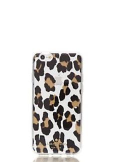 Kate Spade leopard clear iphone 6 case