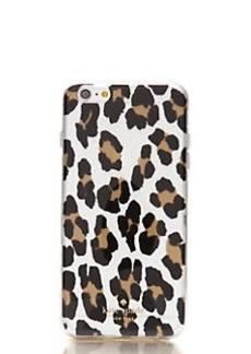 Kate Spade leopard clear iphone 6 plus case