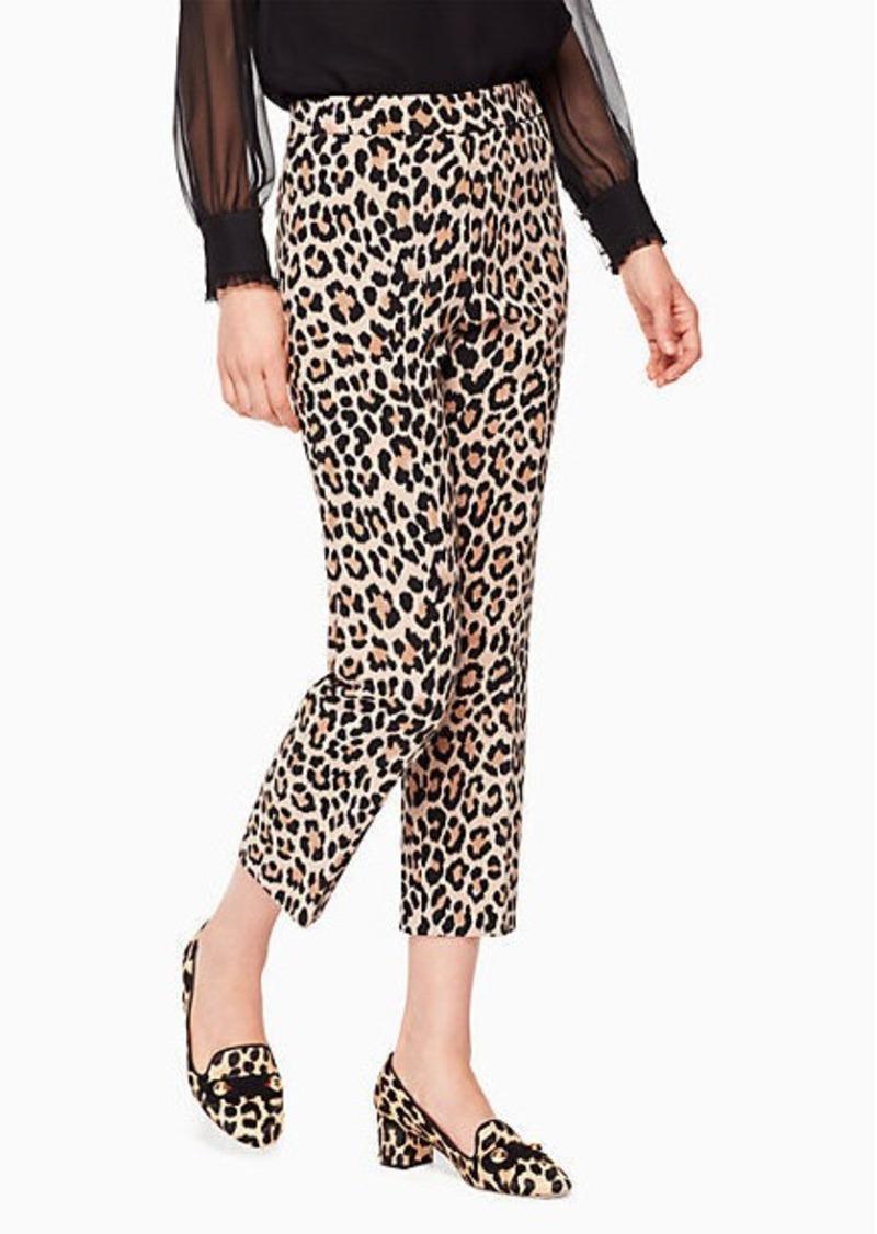 326cc7c0bdd1 Kate Spade leopard-print cigarette pant   Casual Pants