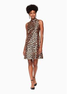Kate Spade leopard-print sequin dress