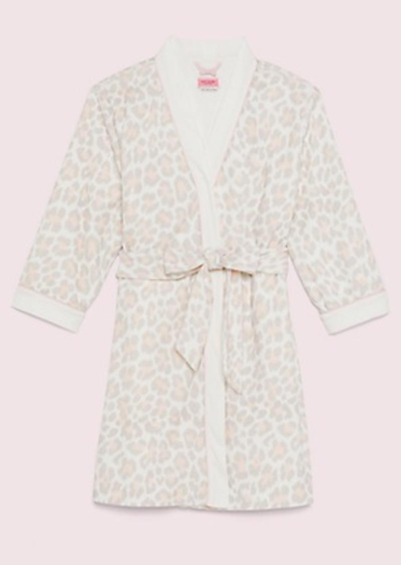 Kate Spade leopard robe