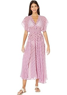Kate Spade Lia Dot Cover-Up Dress