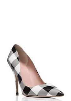 Kate Spade licorice heels