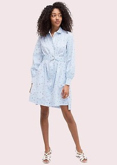 Kate Spade lips stripe shirtdress
