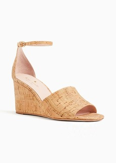 Kate Spade lizzy wedge sandals
