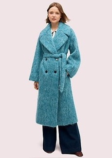 Kate Spade long-haired wool coat