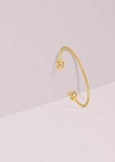 Kate Spade loves me knot double cuff