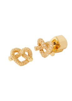 Kate Spade Loves Me Knot Pavé Mini Stud Earrings