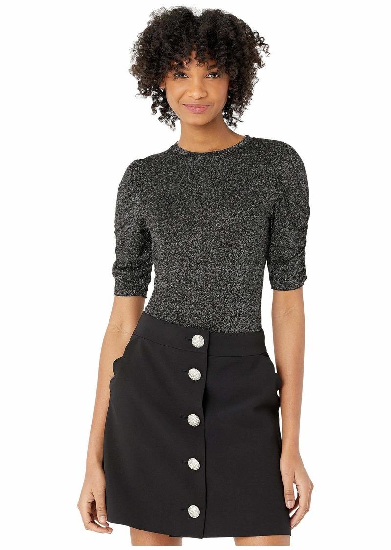 Kate Spade Lurex Jersey Knit Top