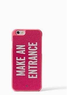 Kate Spade make an entrance iphone 6 case