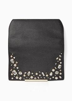 Kate Spade make it mine crystal embellished flap