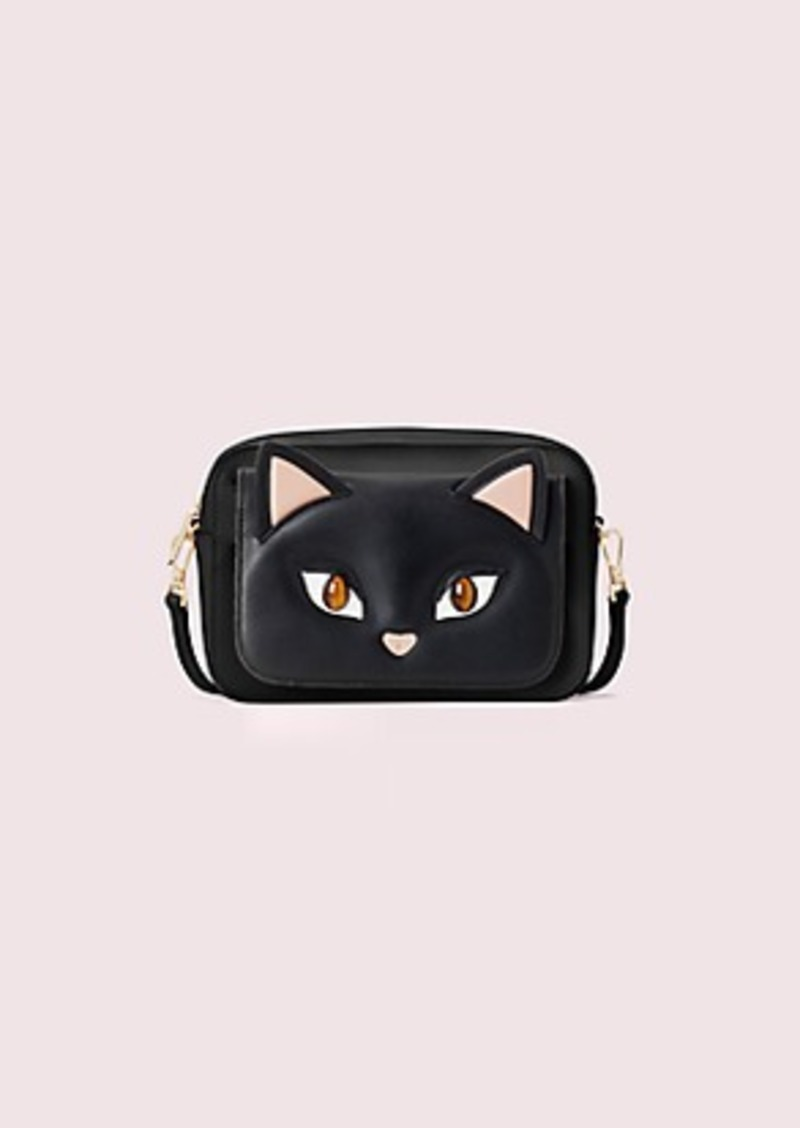 Kate Spade make it mine customizable camera bag cat pouch