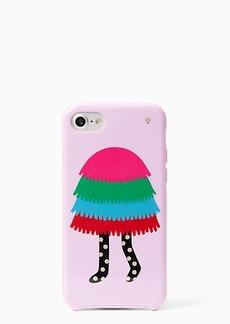 Kate Spade make your own pinata girl iphone 7 case