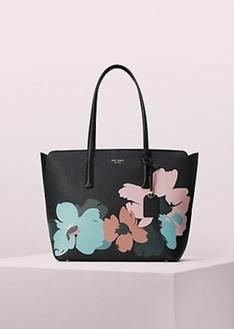 Kate Spade margaux brush bloom large tote