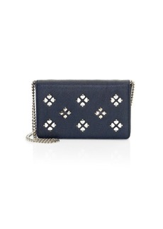 Kate Spade Margaux Floral Leather Chain Wallet