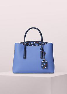 Kate Spade margaux party floral large satchel