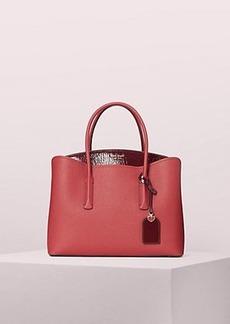 Kate Spade margaux patent large satchel