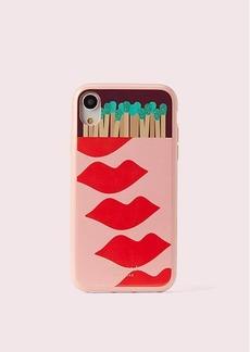 Kate Spade matchbox iphone xr case