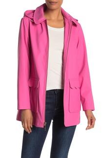 Kate Spade matte coated rain coat