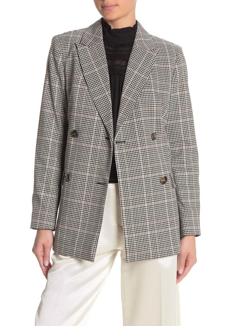 Kate Spade Menswear Modern Plaid Blazer (Regular & Plus Size)
