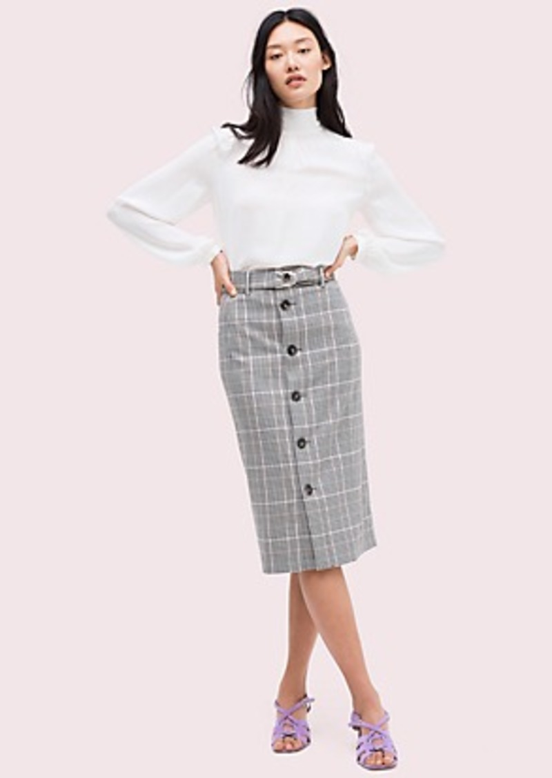 Kate Spade menswear pencil skirt