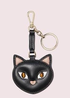 Kate Spade meow cat key fob