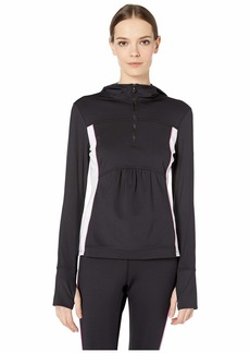 Kate Spade Mesh Inset 1/2 Zip Jacket