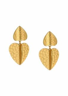 Kate Spade Metal Petal Drop Earrings
